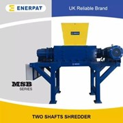 High Efficiency Commercial Plastic Drums Two Shaft Shredder Machine