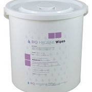 Bio Hygiene Bucket: Dry Wipes, Wipes dispenser, Refillable, Non-Toxic.