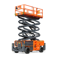 Rough Terrain Scissor Lift | Summit SL1623-AWD