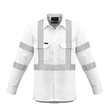 Hi-Vis Workwear I Syzmik Mens Bio Motion X Back Shirt