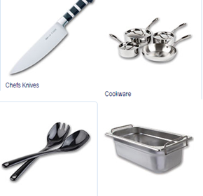 Kitchenware, Storage and Knives