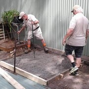 Erina Men's Shed installs their own Ezi-Duct Dust Collection system