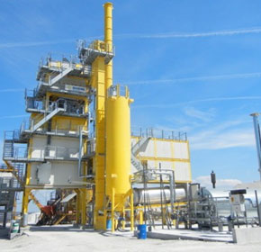 Asphalt Tower | Batch Plants Systems | Marini TOP Tower Series