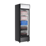 Single Glass Door Mounted Refrigerator