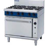 Gas Range Convection Oven Blue Seal Evolution Series G56D - 900mm