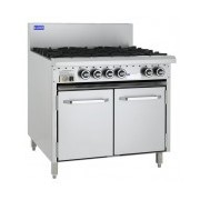 Gas Burners - 8 Burner - & Oven | CRO-8B