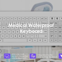 Healthcare Keyboard - Waterproof | ICONA