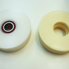 Machined Cast Nylon Rollers