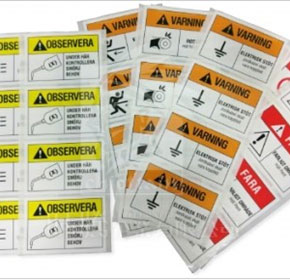 Safety Warning Label Printing Manufacturer