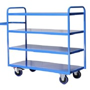 Large 4 tier Order Picking Trolley
