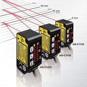 Measurement Sensors by Panasonic | HG-C 1000 Series