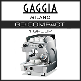 Coffee Machine | Gaggia GD Compact