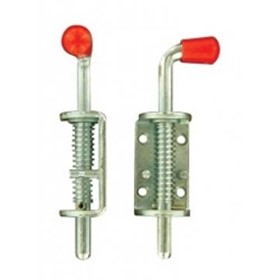 Spring Loaded Red Knob Shot Bolt