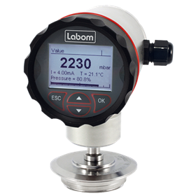 Pressure and Temperature Instrumentation | LABOM GmbH