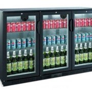 BB0330GD Back Bar 3 Glass Door Chiller