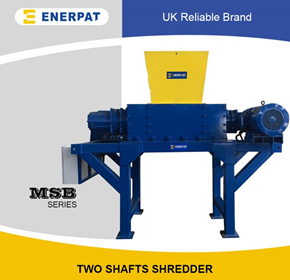 Scrap Metal Shredder - Waste Tin/Aluminum Can Shredders - MSB-22