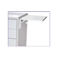 Optional Folding Side Shelf