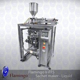 Flamingo Vertical Form Fill Sachet Maker - Liquid | EFFFS-L-4200