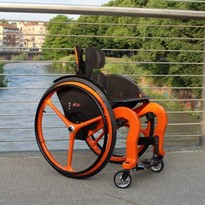 Carbon Wheelchair | CSEI Evo
