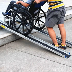 Wheelchair Loading Ramps - Lightweight Telescopic