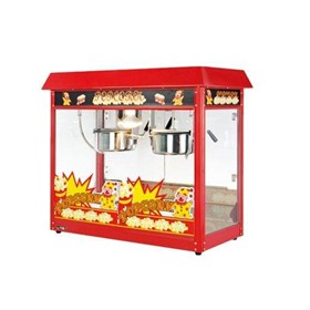 Double 8oz Kettle Popcorn Machine