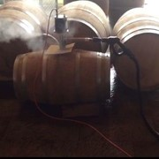 Wine Barrels steam cleaner