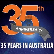 35 years supporting Australia