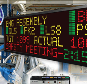 Industrial LED Display | Tough Smart Marquee with Wifi Easy Connect