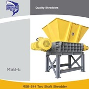 Unshark Commercial Used Tire Two Shaft Shredder | MSB-44
