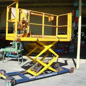 Air Operated Scissor Lift