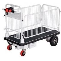 Electric Powered Trolley Cart with Cage - HG105