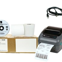 Shipping Label Printer Package GK420D