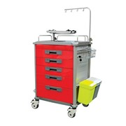 Meddco Emergency Trolley
