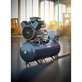 Oil-Lubricated Aluminum Piston Air Compressor