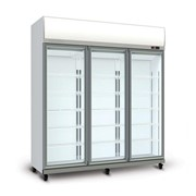 3-Door Display Fridge