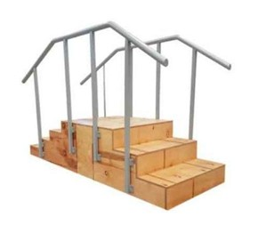 Rehabilitation Stairs | ABCO 4 x 3 Straight