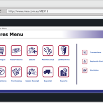 MEX / FleetMEX Inventory Management System – Stores