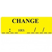 X-Ray - Large Descriptive Identification Labels Change (Time & Date)