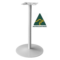 Australian Made Bar Cafe Table Base | Coral Disc