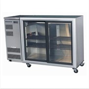 2 Glass Door Backbar Chillers - Sliding Doors | BB380 2SL