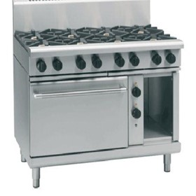 Gas Range Electric Static Oven 800 Series RN8810GE - 1200mm
