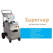 Supervap Industrial 3Ø Steam Cleaner - 20A Three Phase