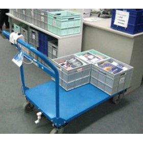 Battery Powered Motorised Platform Trolley