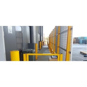 Safety Barrier I RHINO-STOP Screen Warehouse Guardrail