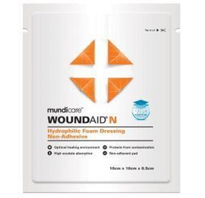 mundicare® Woundaid® Non-Adhesive Foam Dressings