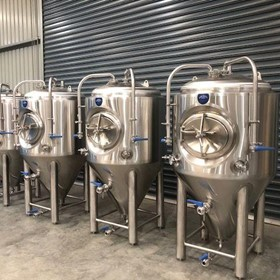 500L Insulated & Jacketed Stainless Steel Tank Fermenter