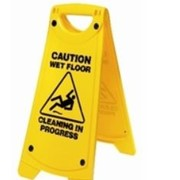 Rapidclean Dual Message | A-Frame Safety Sign