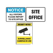 Factory & Site Signs | Signet