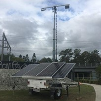 Solar Hybrid Lighting Towers