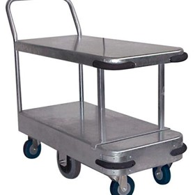 Galvanised Twin Deck Platform Trolley - HTS500D
